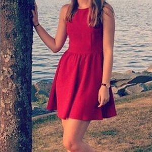 Red Everly Dress